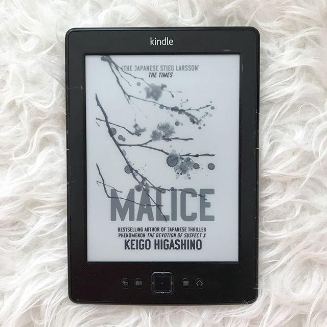 Malice book cover
